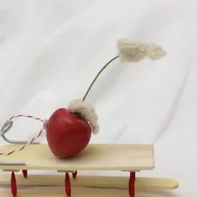 cherry on sled